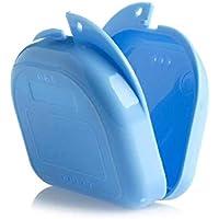 Zahnspangendose, Retainer Dentalbox, KFO-Box Prothesendose Retainer Fall Mit Vent Löcher und Klappdeckel Snaps - preisvergleich