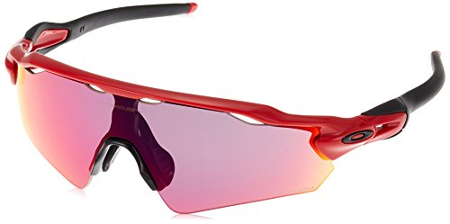 Redline , Prizm Road : Oakley Men's Radar EV Asian Fit Shield Sunglasses image