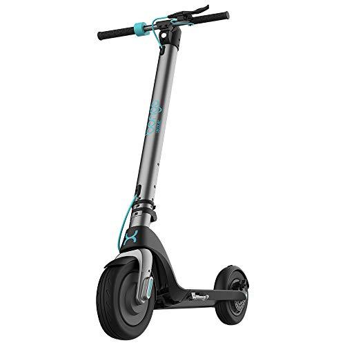 Cecotec Patinete eléctrico Bongo Serie A. Potencia máxima de 700 W, Batería Intercambiable, autonomía ilimitada hasta 25 km, Ruedas Tubeless...