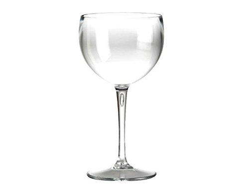 Rojo Vino Glass Globo Gin Tonic Cristal Vasos reutilizables (DOIMO Fla
