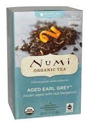 Numi Tea Organic(BLACK TEA) Aged Earl Grey 18ct x 36g