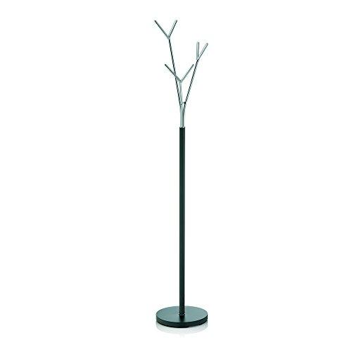 Kela 22233 Badezimmerständer, Rostfrei, Metall, 173,5 cm Höhe, Sinerio, Anthrazit