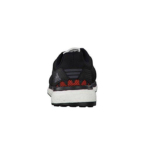 adidas Response+ , Scarpe Running Uomo Grigio (Grey Four/core Black/solar Orange)