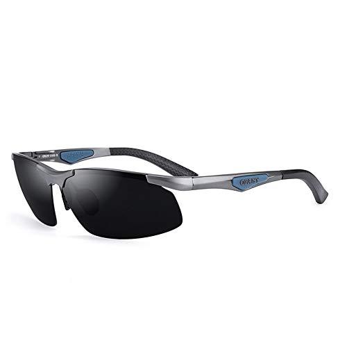 1eabe61c7b Susulv Gafas de Sol polarizadas Gafas de Sol de Aluminio de magnesio para  Hombre Conductor de conducción Espejo de Moda Gafas de