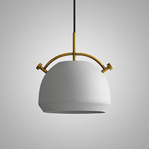 Fünf-licht-leuchter-glühlampen (LILY Amerikanischen Retro Topfdeckel Modellierung Kronleuchter, Mode Persönlichkeit Cafe Bekleidungsgeschäft Restaurant Industriellen Kronleuchtern (schwarz und weiß) ( Color : Gray-27.5cm ))