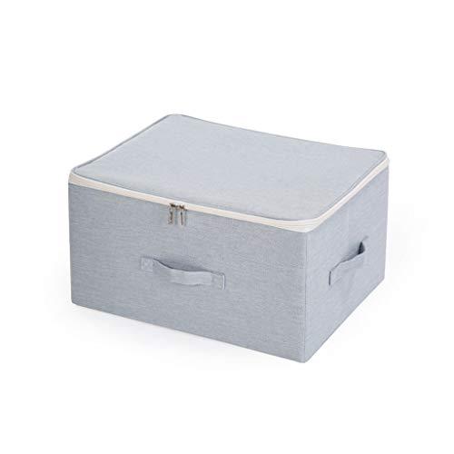 schluss Aufbewahrungsbox, Würfel Oxford-Stoff Größer Veranstalter Lagerplätze Mit Staubdicht Deckel, Für Home Office (Color : B, Size : 50 * 40 * 25cm) ()
