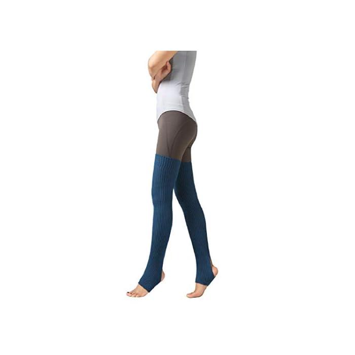 URSING Overknee Stulpen für Damen Gestrickt Beinstulpen Kniestrümpfe Klassische Winter Stiefel Socken Beinlinge Strümpfe…