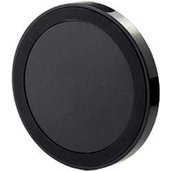 pour Iphone XS/XS Max/XR/8/8 Plus/X/Samsung Galaxy S9/S9 Plus/S8/S8 Plus/S7/S7 Edge/S6/S6 Edge/S6 Edge Plus/Note 5/Note 9,Cooljun Chargeur Qi sans Fil Portable Ultra-Mince Pad de Charge (Noir B)
