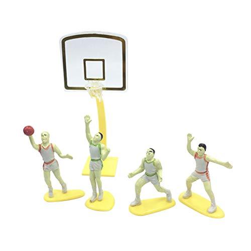 ake Topper Cupcake Topper Kuchen Dekorationen Basketball Geburtstag Partydekoration Lieferungen (zufällige Farbe) ()