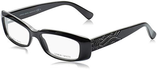 Giorgio Armani Unisex AR6024 Sonnenbrille, Braun (Matte Bronze 300431), One size (Herstellergröße: 60)