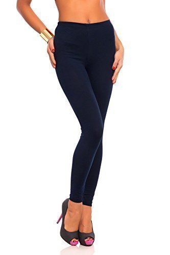 Futuro Fashion Full Length Cotton Leggings All Colours All Sizes Active Pants Sport Trousers