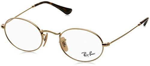 Ray-Ban Unisex-Erwachsene 0RX 3547V 2500 48 Brillengestelle, Gold (Arista),