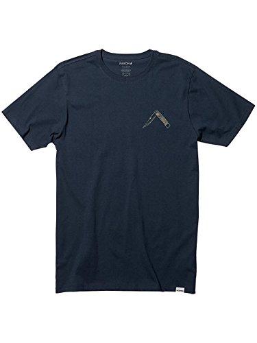 Herren T-Shirt Nixon Cutters T-Shirt Navy