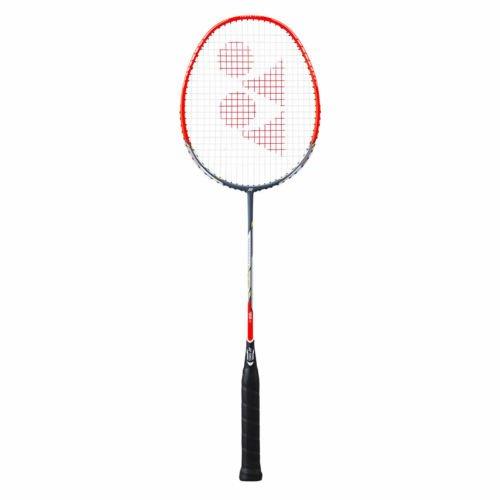 Yonex Badmintonschläger Nanoray Dynamic Swift bespannt mit Hülle (rot)