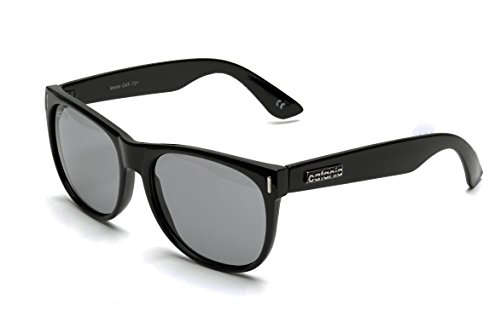 Catania Occhiali ® Gafas de Sol Polarizadas - Modelo Wayfarer Vintage Classic - Gafas Unisex - (Cristales Polarizados para Deportes / Esqui) - Incluye Funda y Toallita de Limpieza