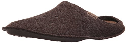 crocs Classic Slipper, Unisex - Erwachsene Pantoffeln, Braun (Espresso/Walnut), 43-44 EU