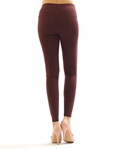 yeset -  Leggings  - relaxed - Basic - Donna Blu scuro