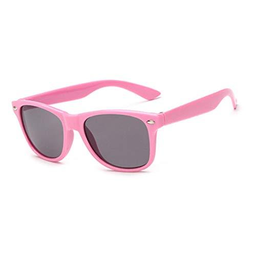 Taiyangcheng Kind-Sonnenbrille Anti-Uv-Baby-Sonnenschutz-Brille Girl Boy Sunglass,Rosa