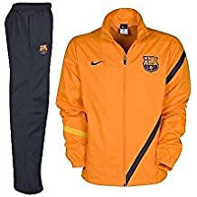 Nike Dry fabric Official soccer suit Original FC Barcelona details. Nike - Barcelona  Chandal NA Junior 11 12 Hombre Color  Naranja Talla  XL 59f10d03d9d