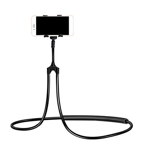 Garciadia Tragbare Faule Hals-Telefon-Halter Hängen Stehen Taille Handy Halterung Halter Clip Flexible Halterung für iPhone - Taille Stehen