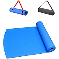 BOLTT® Yoga Mat with Free Bag and Shoulder Carry Strap Anti Skid Yoga Mat for Gym Workout and Flooring Exercise Extra…