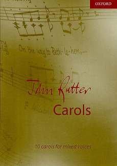 CAROLS - arrangiert für Gemischter Chor - Klavier - (Harfe) [Noten / Sheetmusic] Komponist: RUTTER JOHN