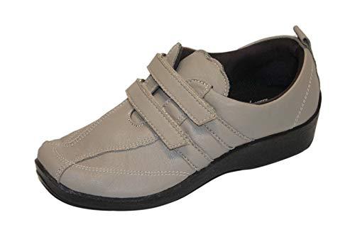 ARCOPEDICO Mujer Zapatillas Gimnasia Beige Size: 38
