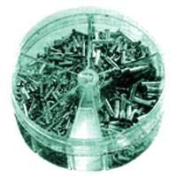 Aderendhülsen-Streudose unisoliert 0,5 - 2,5 mm²