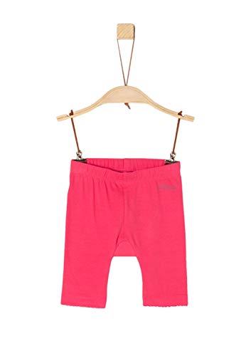 s.Oliver Baby-Mädchen 65.904.75.2769 Leggings, Rot (Pink 4517), (Herstellergröße: 80) Baumwolle Baby-leggings