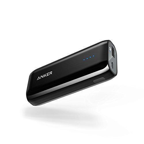 Batterie Externe Anker Astro E1 5200mAh ultra-compacte munie de la technologie PowerIQ, pour iPhone X / 8 / 8 Plus / 7 / 7 Plus / 6S / 6S Plus / 6 / 5S / 5C, iPad, Samsung Galaxy, Nexus, HTC