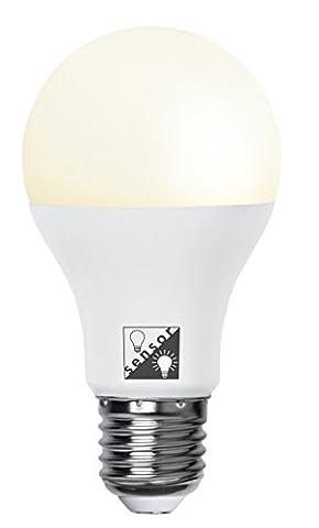 Smart LED, E27, A+, Dämm.Sensor ca. 2700 K, 80 Ra, 1050 Lm, ca. 6 x 11 cm, 230 V / 12W (entspr. 75 W ), 1 Stück
