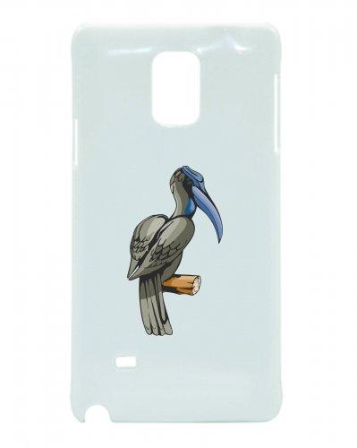 Smartphone Case uccello blu con becco sul ramo uccelli volare per Apple Iphone 4/4S, 5/5S, 5C, 6/6S, 7& Samsung Galaxy S4, S5, S6, S6Edge, S7, S7Edge Huawei HTC-Divertimento Moti