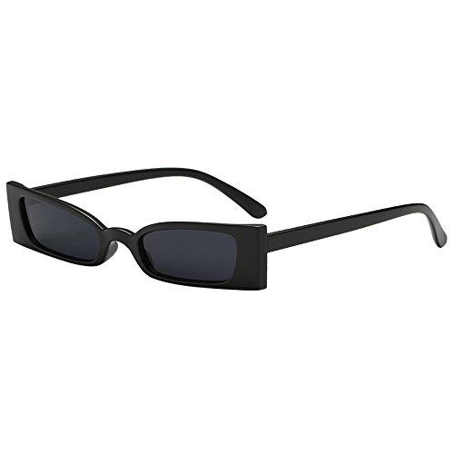Battnot☀ Sonnenbrille für Damen Herren, Unisex Vintage Kleiner Platz Rahmen Mode Anti-UV Gläser Sonnenbrillen Schutzbrillen Männer Frauen Retro Billig Sunglasses Fashion Women Eyewear Eyeglasses