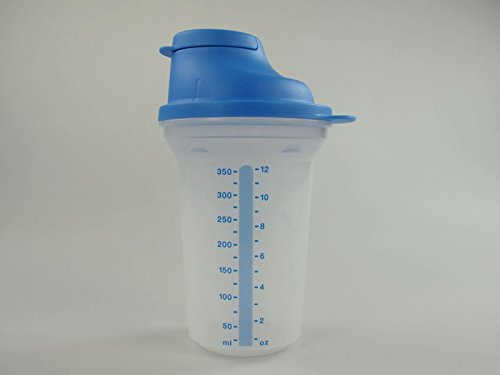 TUPPERWARE Backen Mix-Fix klein 350 ml blau D214 Shaky Küchenhelfer Shake It