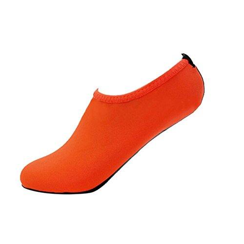 Aoogo Männer Damen Yoga Surf Strand Schnorcheln Socken Outdoor Schwimmen Wassersport Tauchen rutschfeste Socken Stiefel Socken Sommer Flip Flops Schuhe -
