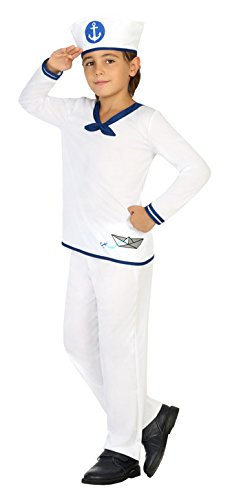 Atosa verde Ragazzo di marinaio costume, Dimensioni 116