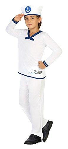 Atosa 20424–marinero, niño Disfraz, tamaño 140