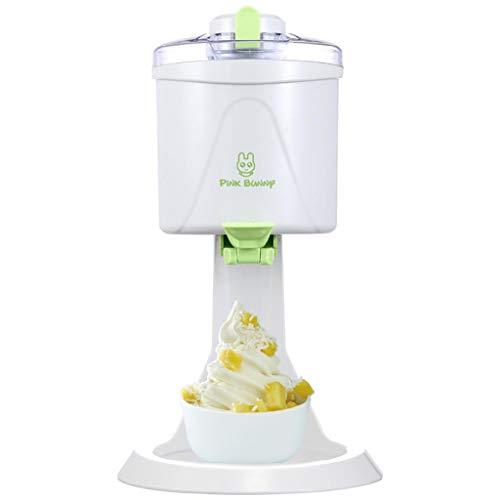 Macchina per gelato, piccola macchina da gelato automatica fai-da-te, il serbatoio deve essere prima congelato, la capacità di 1 litro, forza di agitazione, facile da pulire