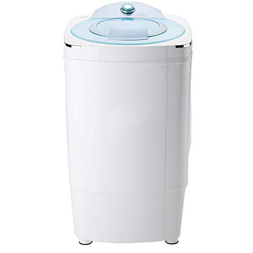 Mini ménage séchoir simple baril, sèche-linge séchoir rotatif déshydratation volume 5.8KG 160W (bleu) pour chambre à coucher salle de bain camping, etc.