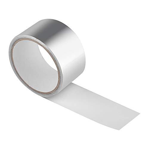 Ruban de protection thermique - Ruban de scellement adhésif de ruban de protection thermique pour papier d'aluminium Résistant à la chaleur, outil de réparation de conduits 1.5S 5CM * 10M
