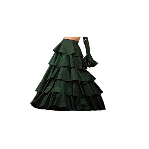 Vaidehi Creation Women's New Attractive TafetaSilk Skirt / Lehenga