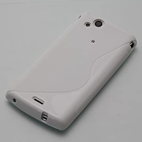 ECENCE Sony Ericsson xperia Arc Arc S Silikon TPU case schutz hülle handy tasche cover schale 22020402