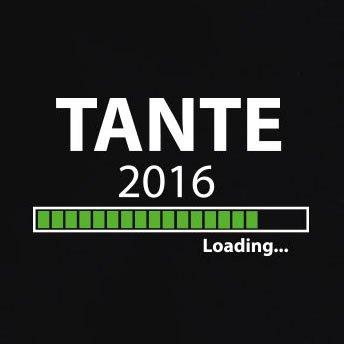 TEXLAB - Tante 2016 Loading - Langarm T-Shirt Rot