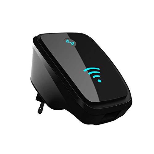 300 MBit/s WiFi Repeater WiFi Extender Booster 2,4-GHz-Funkverstärker mit Zwei externen Antennen, Access Point/Repeater/Router-Modus, Ethernet-Anschluss, WPS (Long Range Antenne Handy)