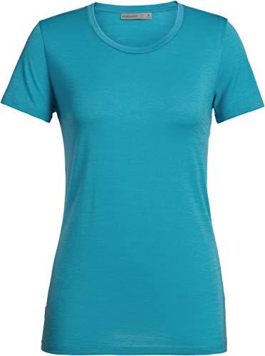Icebreaker 150 Tech Lite Short Sleeve Low Crewe Shirt Women - Merino Damenshirt