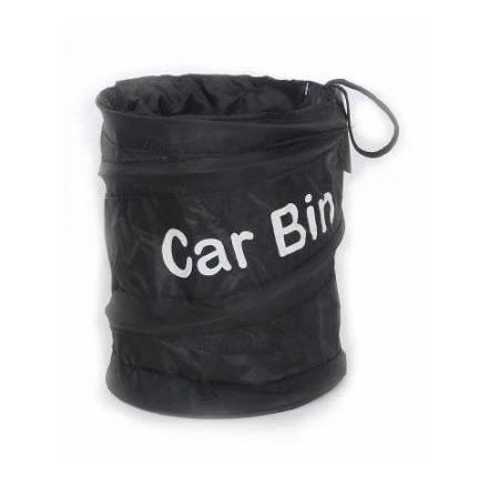 Kingken tragbar faltbar Auto-Abfalleimer POP UP Trash Katzenstreu Abwasser beständig Tasche für Auto (schwarz)