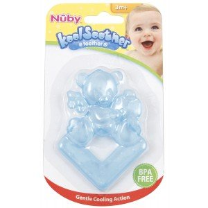 Nuby Water Filled Teether (Colours and Designs May Vary)