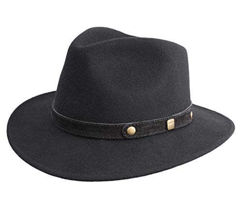Classic Italy - Chapeau fedora feutre - 13 Colories - homme Classic traveller II