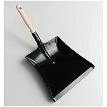 robuste metall kehrschaufel und handfeger mit langem stiel k che haushalt. Black Bedroom Furniture Sets. Home Design Ideas