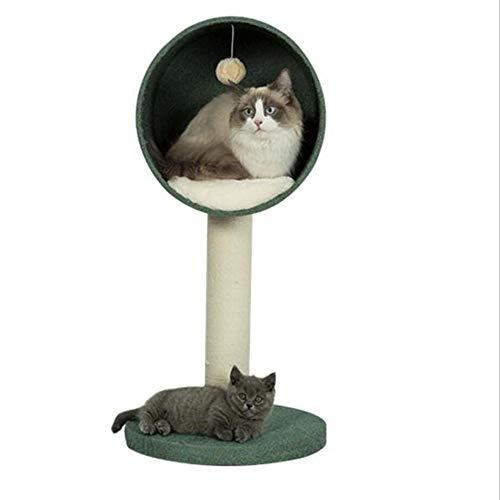 JU FU Haustier Bett Pet Nest -Cat Klettergerüst Massivholz Katze Baum Sisal Katze Kratzbaum Katze Spielzeug Katze Liefert Katze Nest-Sisal @@ -